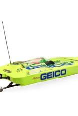 Proboat PRB08040 Miss GEICO Zelos 36 Twin Brushless Catamaran: RTR
