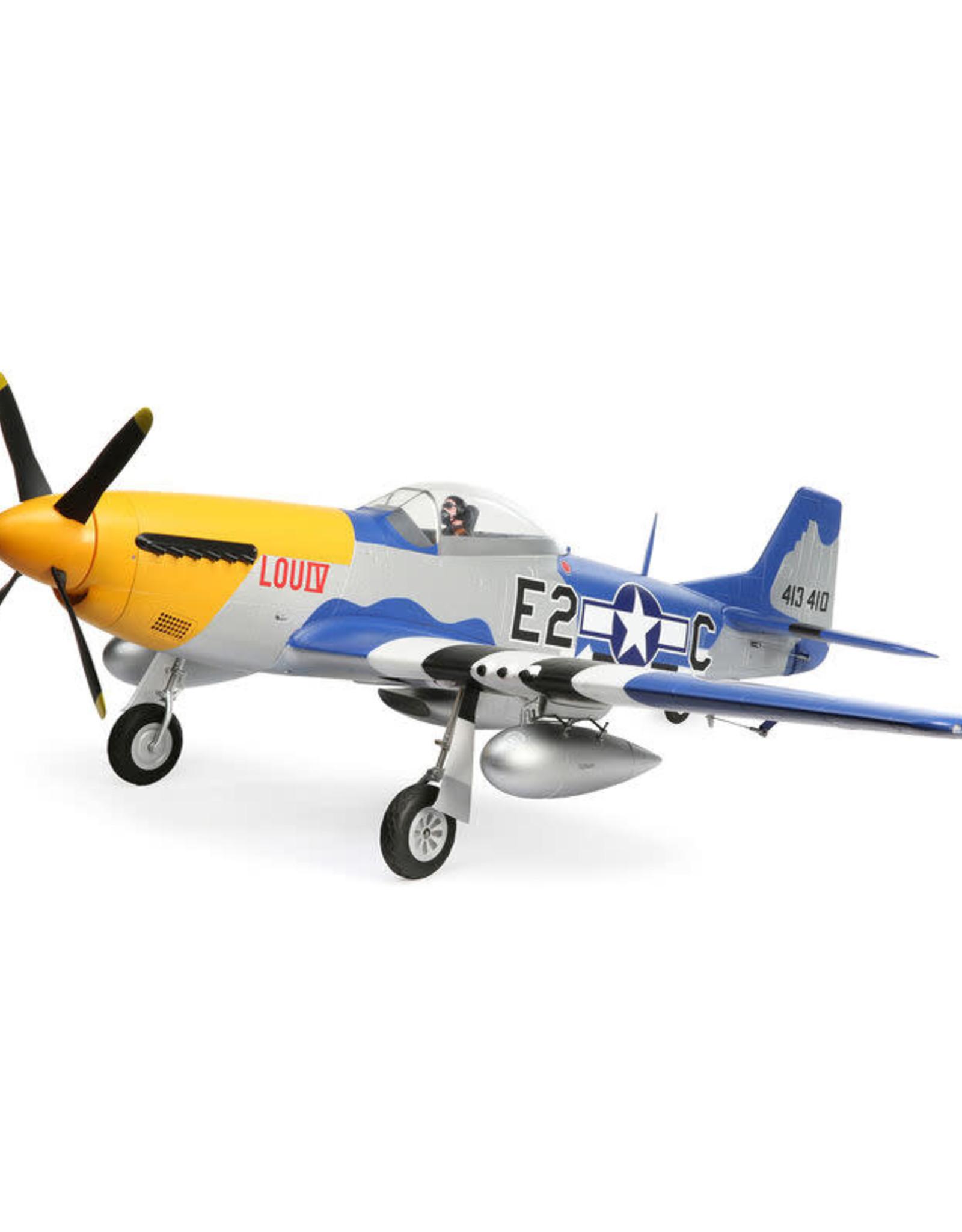 EFL EFL01250C P-51D Mustang 1.5m BNF Basic Battery Combo