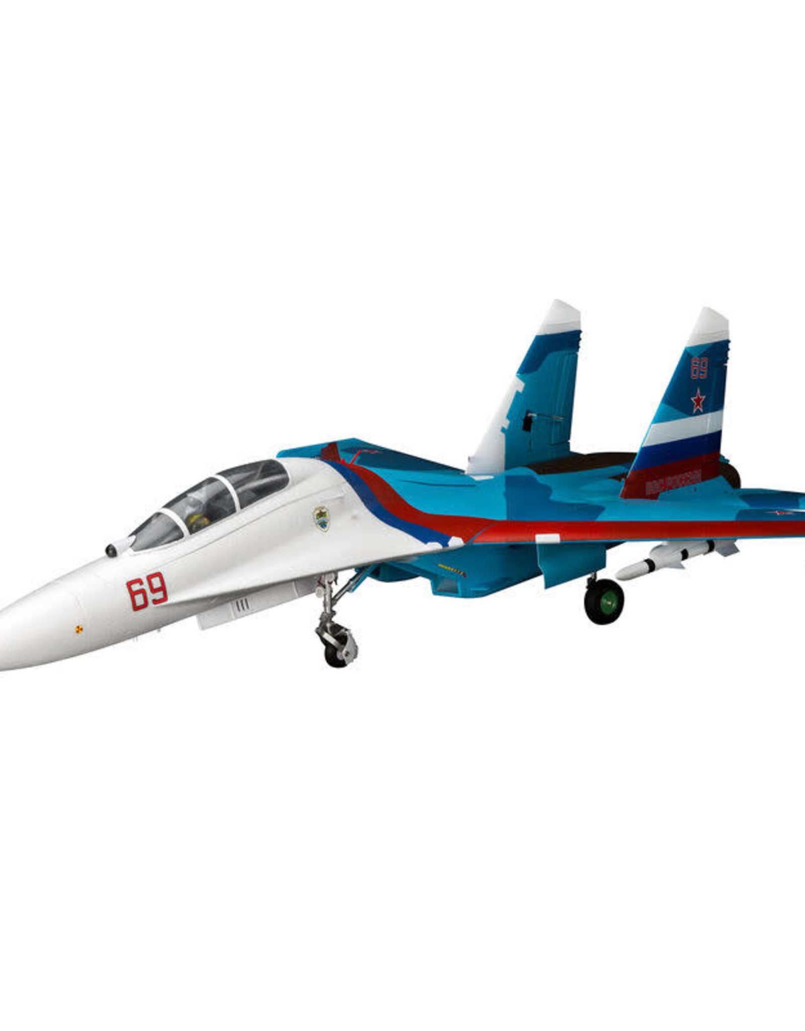 EFL EFL01050 Su-30 Twin 70mm EDF BNF Basic w/AS3X & SAFE Select