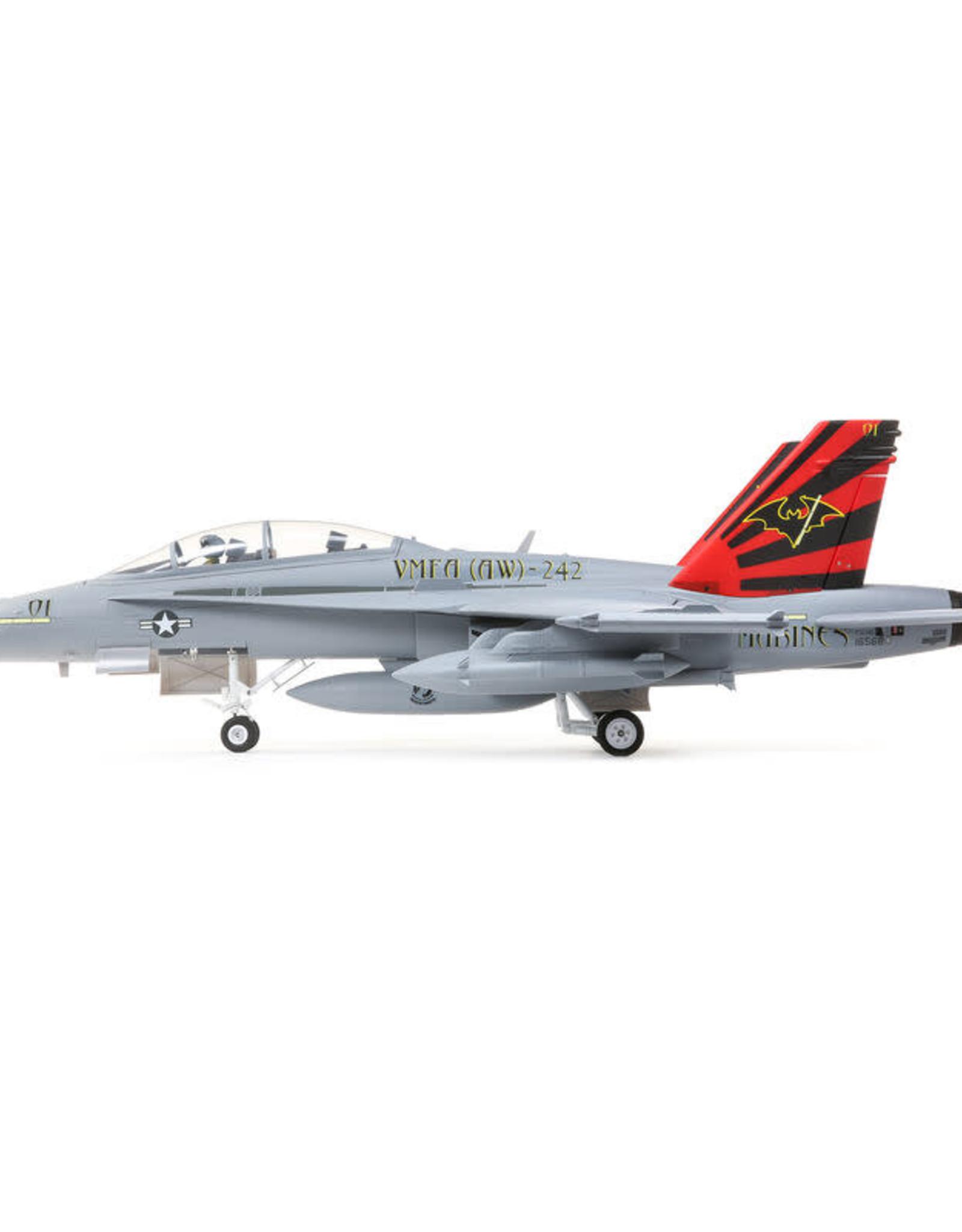 EFL EFL3950 F-18 80mm EDF BNF Basic w/AS3X and SAFE Select