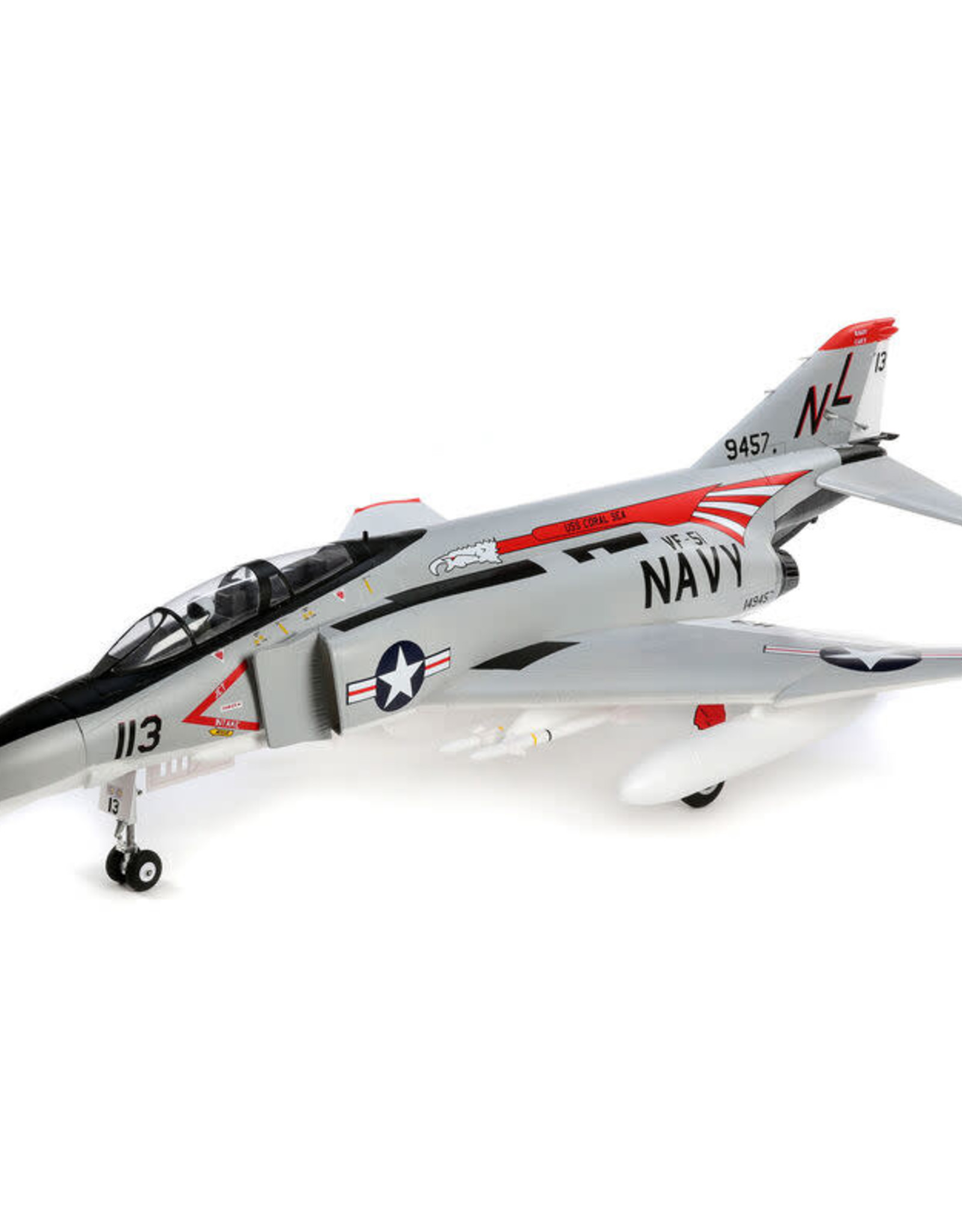 EFL EFL7950		F-4 Phantom 80mm EDF BNF Basic w/AS3X and SS
