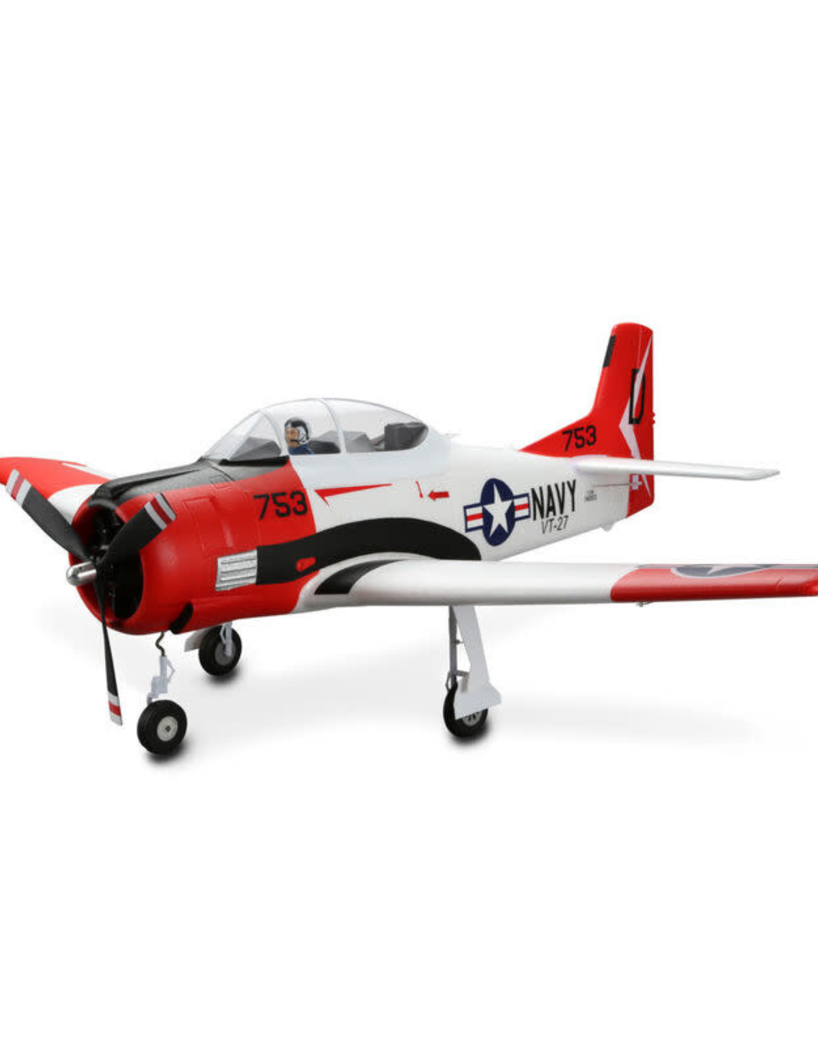 E-flite EFL8350 T-28 Trojan 1.2m BNF Basic with AS3X