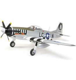 EFL EFL8950 P-51D Mustang 1.2m BNF Basic with AS3X and SAFE Select