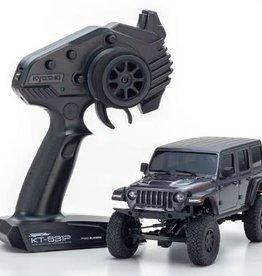 KYOSHO KYO32521GM MINI-Z 4×4 Jeep Wrangler Unlimited Rubicon Granite Crystal Metallic RS