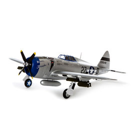 E-flite EFL8450 P-47 Razorback 1.2m BNF Basic with AS3X and SAFE Select