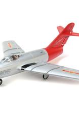 EFL EFLU6050 UMX MiG-15 28mm EDF Jet BNF Basic with AS3X and SAFE Select, 411mm