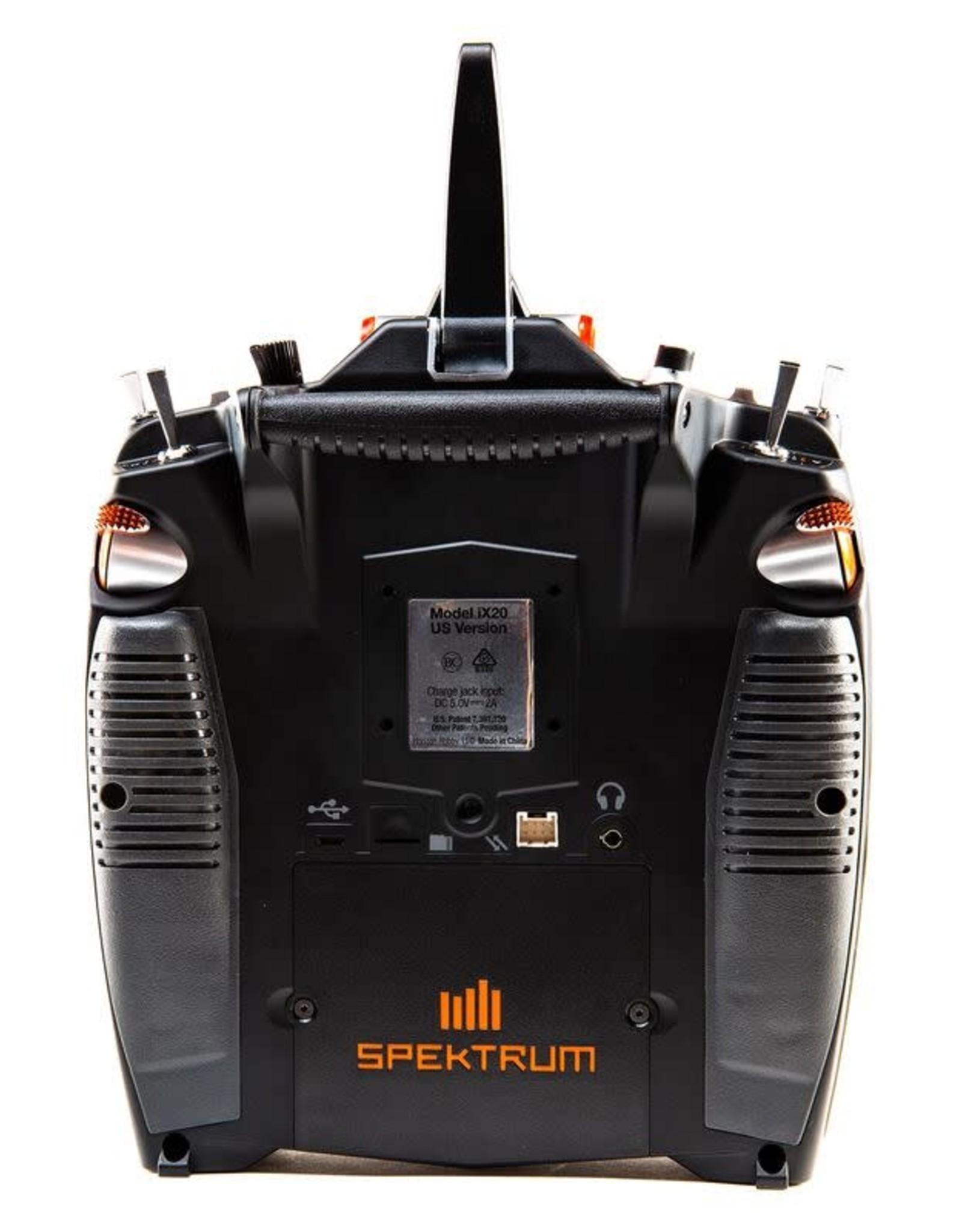 SPM SPMR20100 iX20 20-Channel DSMX Transmitter Only