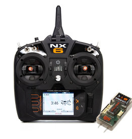 spektrum SPM6775 NX6 6-Channel System with AR6610T Receiver