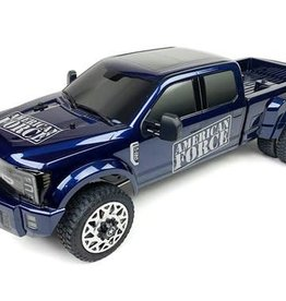 Cen Racing CEG8980  Ford F450 1/10 4WD Solid Axle RTR Truck - Blue