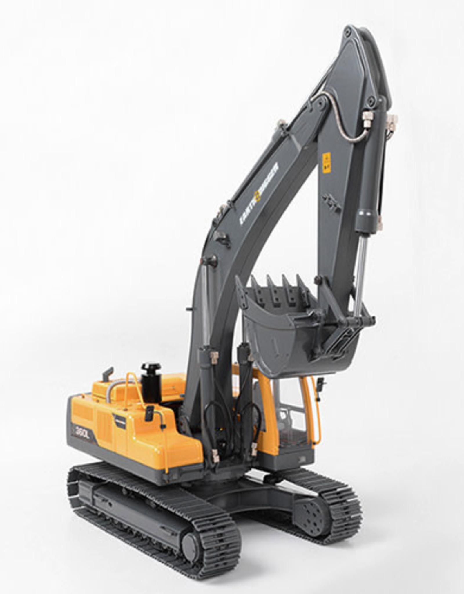 RC4WD RC4WD-VV-JD00016 1/14 Scale RTR Earth Digger 360L Hydraulic Excavator (Yellow)