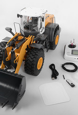 RC4WD RC4WD-VV-JD00031 1/14 Scale Earth Mover 870K Hydraulic Wheel Loader (Yellow and White)