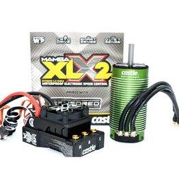 Castle Creations CSE010016701 MAMBA XLX 2 1/5 ESC/800Kv Motor Combo w/20A BEC