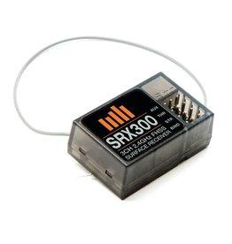 spektrum SPMSRX300 SRX300 FHSS 3-Channel Receiver