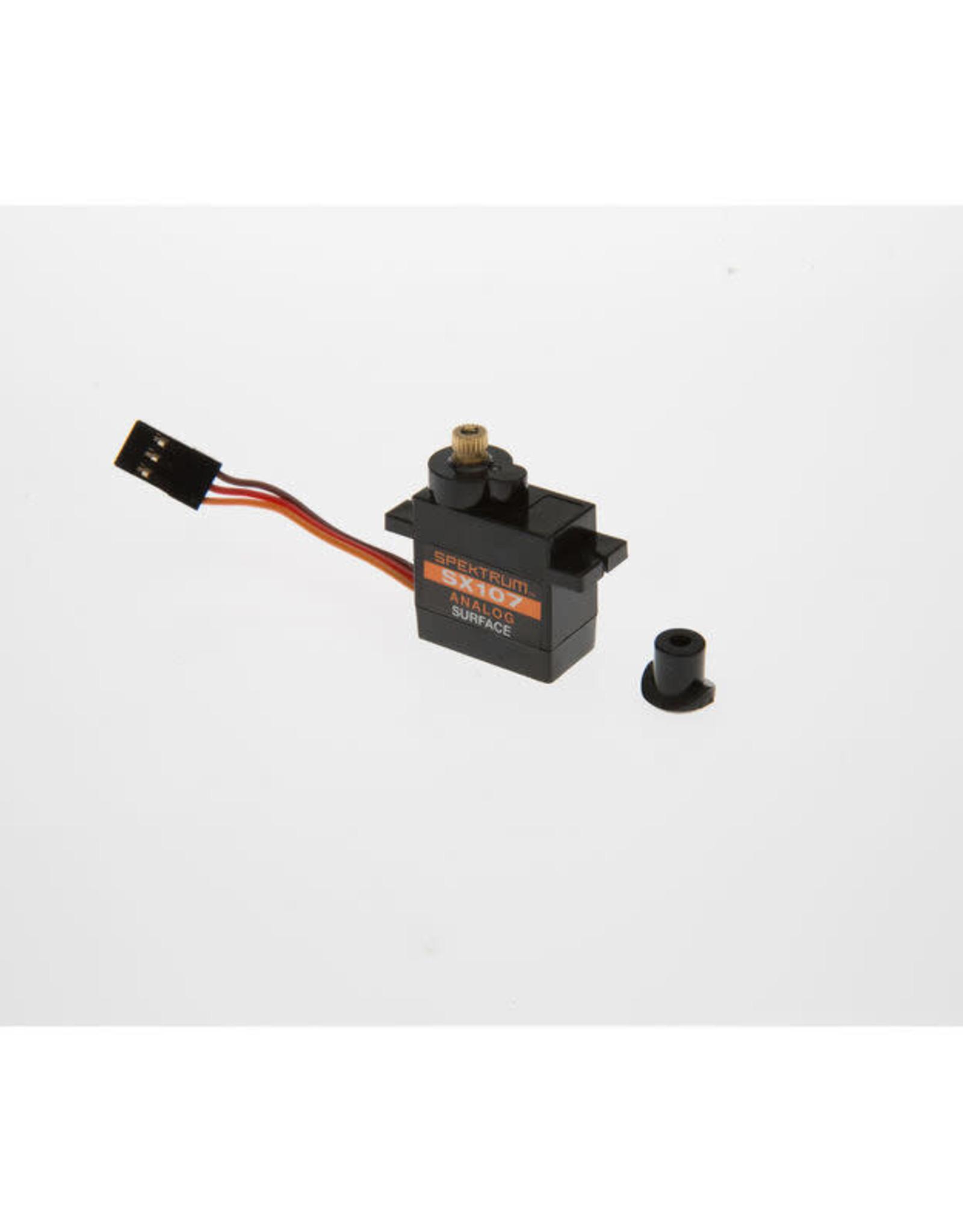 spektrum SPMSSX107 SX107 Micro Analog Metal Gear Surface Servo