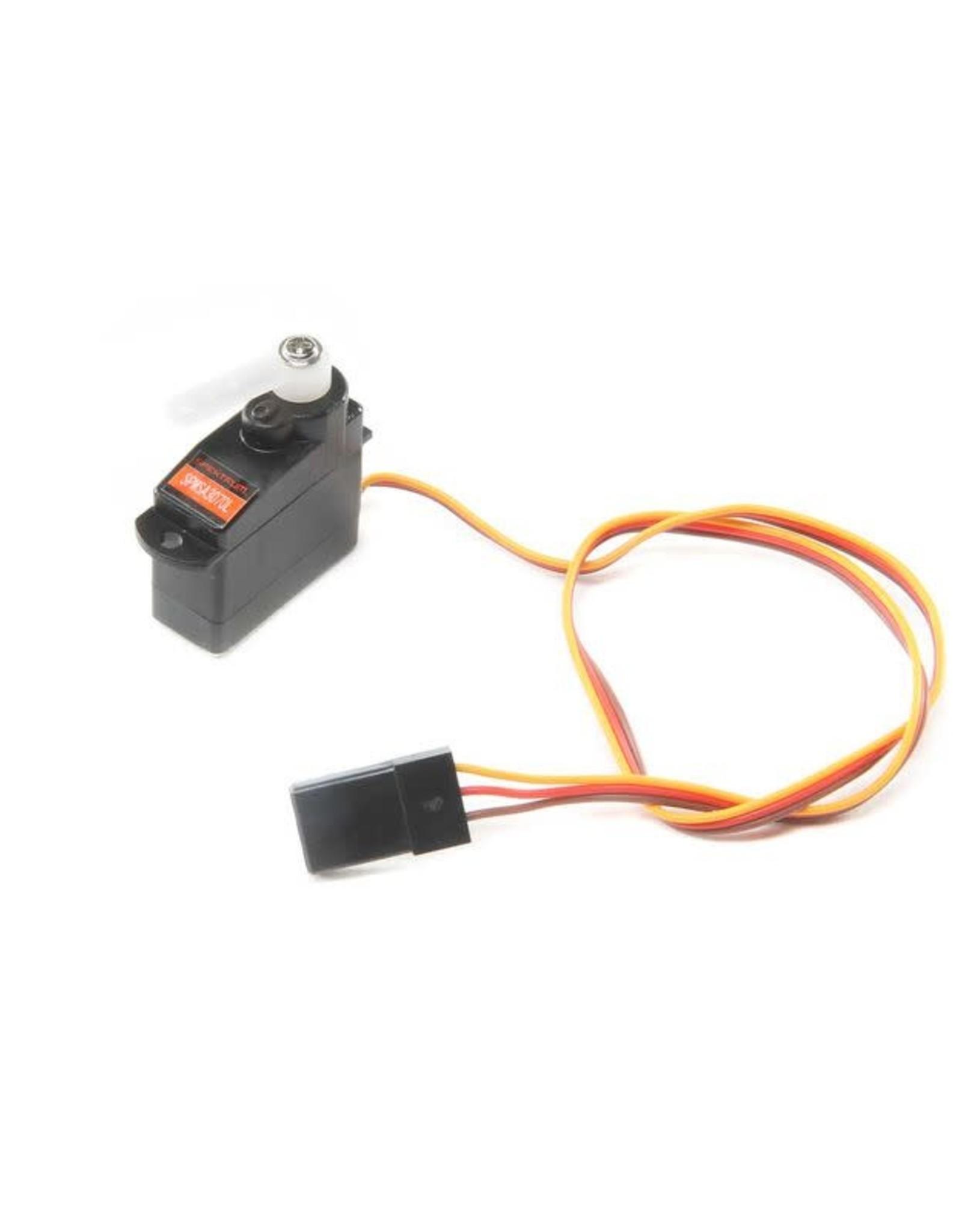 spektrum SPMSA3070L 3.7g Sub-Micro Analog Air Servo Long Lead