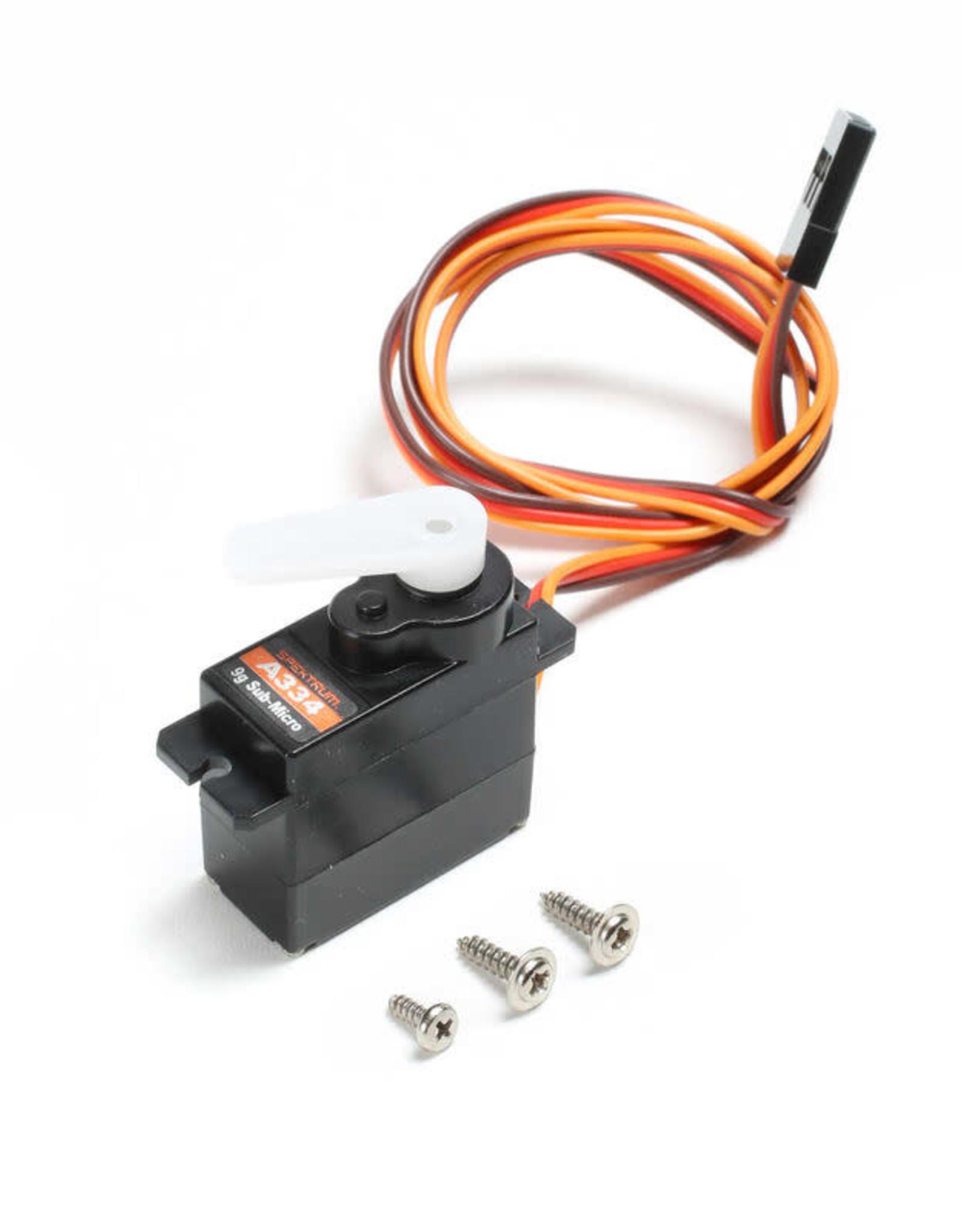 spektrum SPMSA334 Sub-Micro Digital 9g Plastic Gear Servo