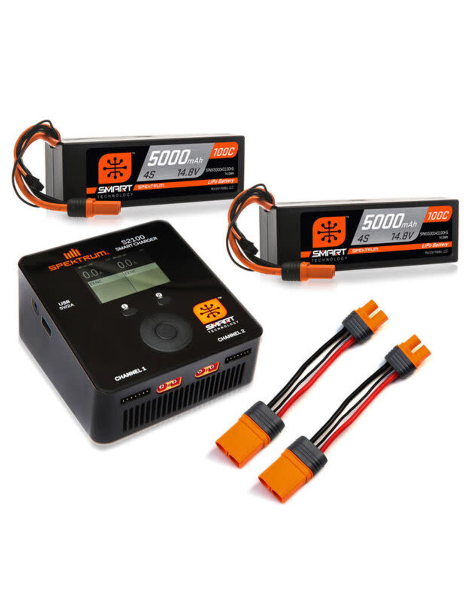 spektrum SPMXPS8HC Spektrum Smart Powerstage Bundle 8S 100C