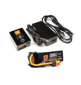 spektrum SPMXPSA4 Smart PowerStage Air Bundle: 4S