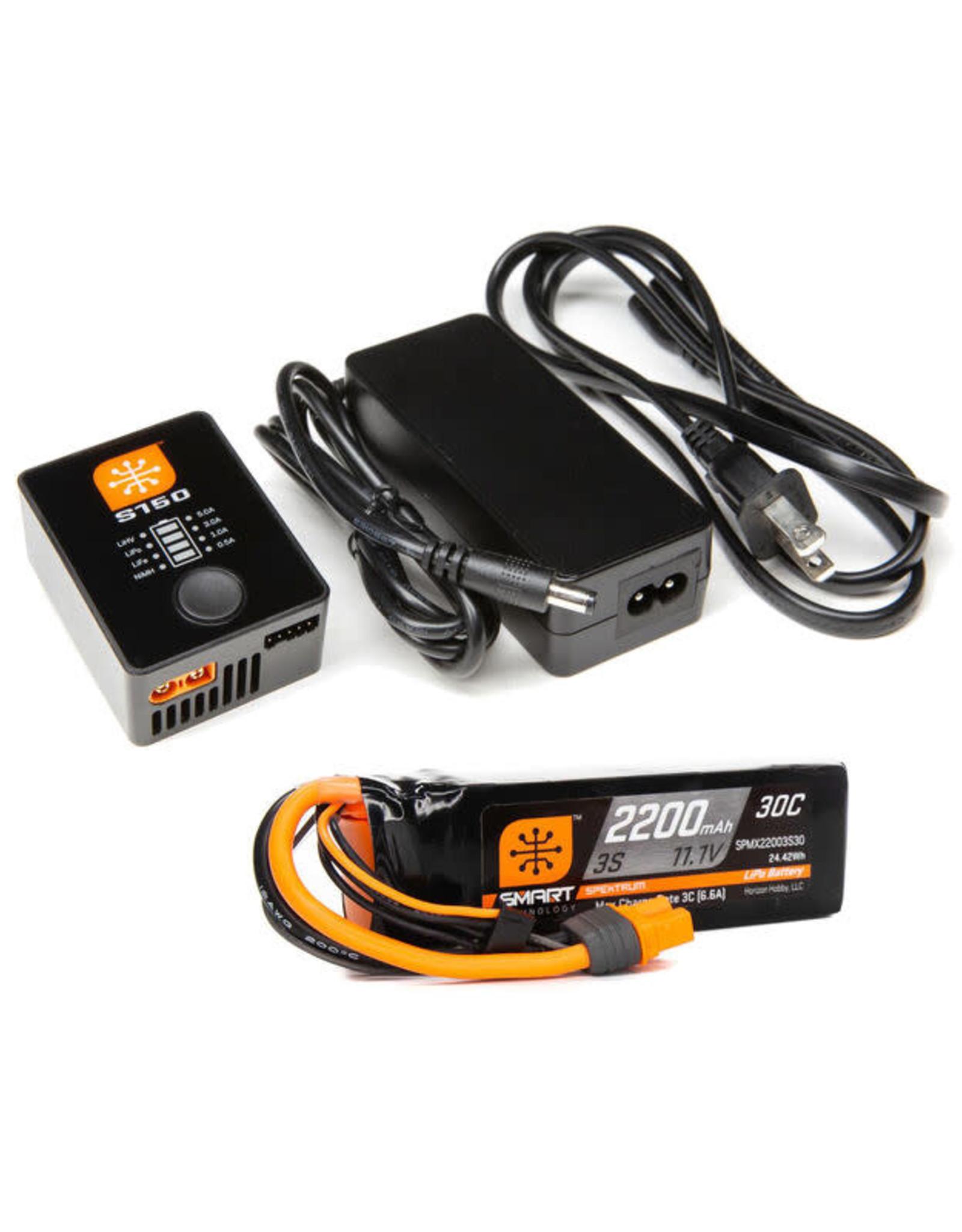spektrum SPMXPSA3 Smart PowerStage Air Bundle: 3S