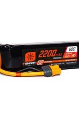 SPM SPMX224S502200mAh 4S 14.8V Smart G2 LiPo 50C; IC3