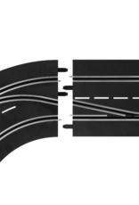carrera CAR30362 Lane Change Curve, Left (In to Out), Digital 124/132