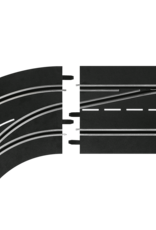 carrera CAR30363 Lane Change Curve, Left (Out to In), Digital 124/132