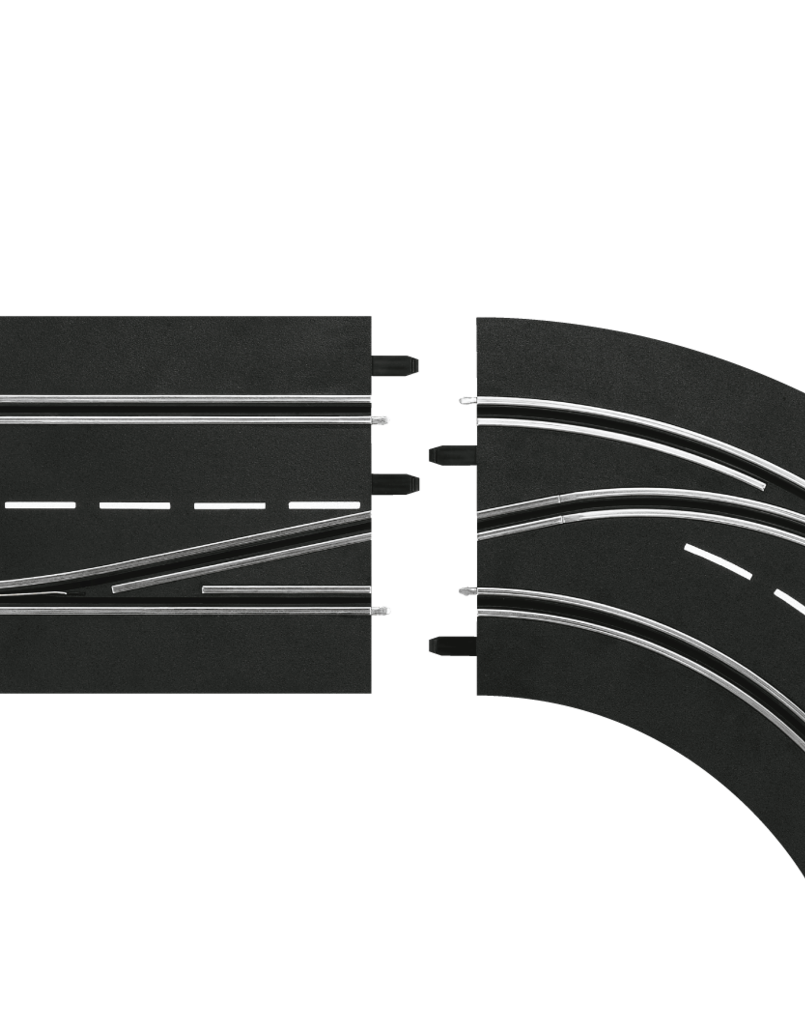 carrera CAR30364 Lane Change Curve, Right (In to Out), Digital 124/132