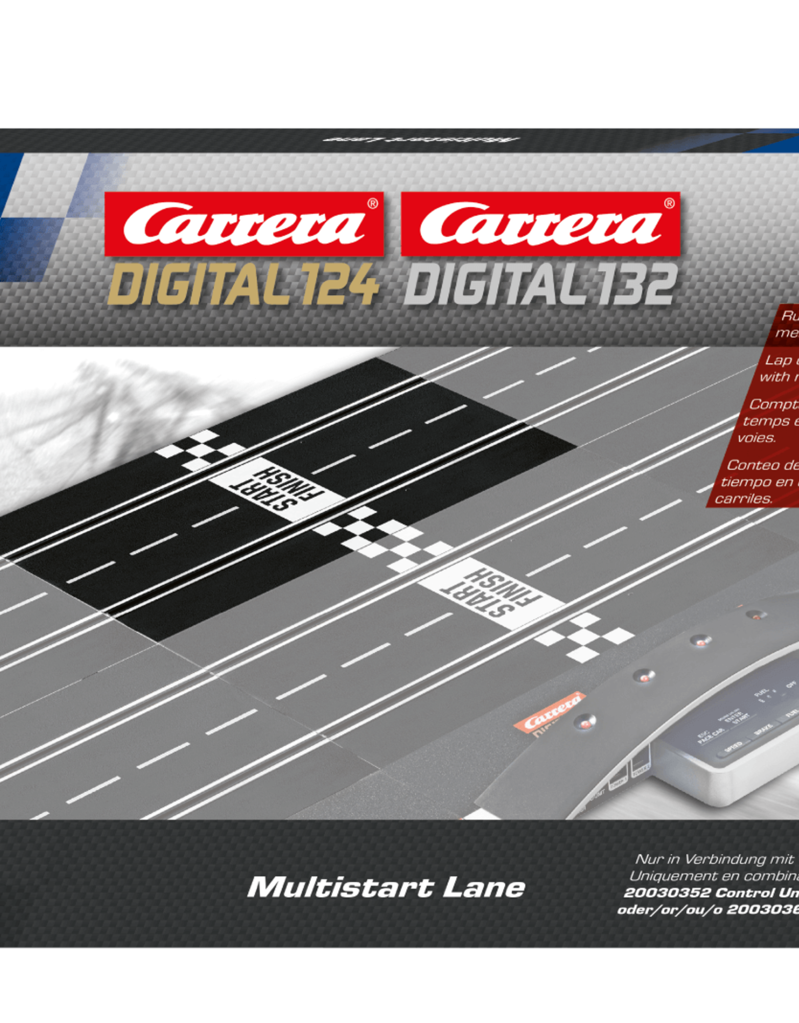 carrera CAR30370 Multistart Lane