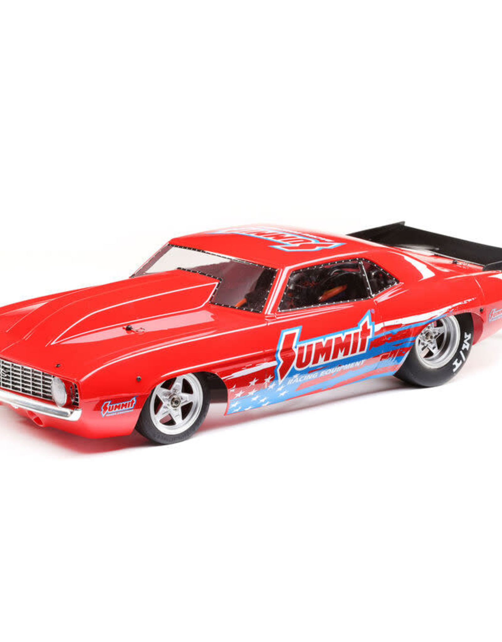 Losi LOS03035T1 1/10 '69 Camaro 22S No Prep Drag Car, Brushless 2WD RTR, Summit