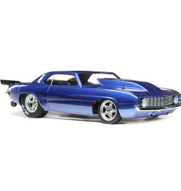 Losi LOS03035T2 1/10 '69 Camaro 22S No Prep Drag Car, Brushless 2WD RTR, Blue
