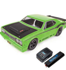 Team Associated ASC70026C DR10 RTR LiPo Combo: Green