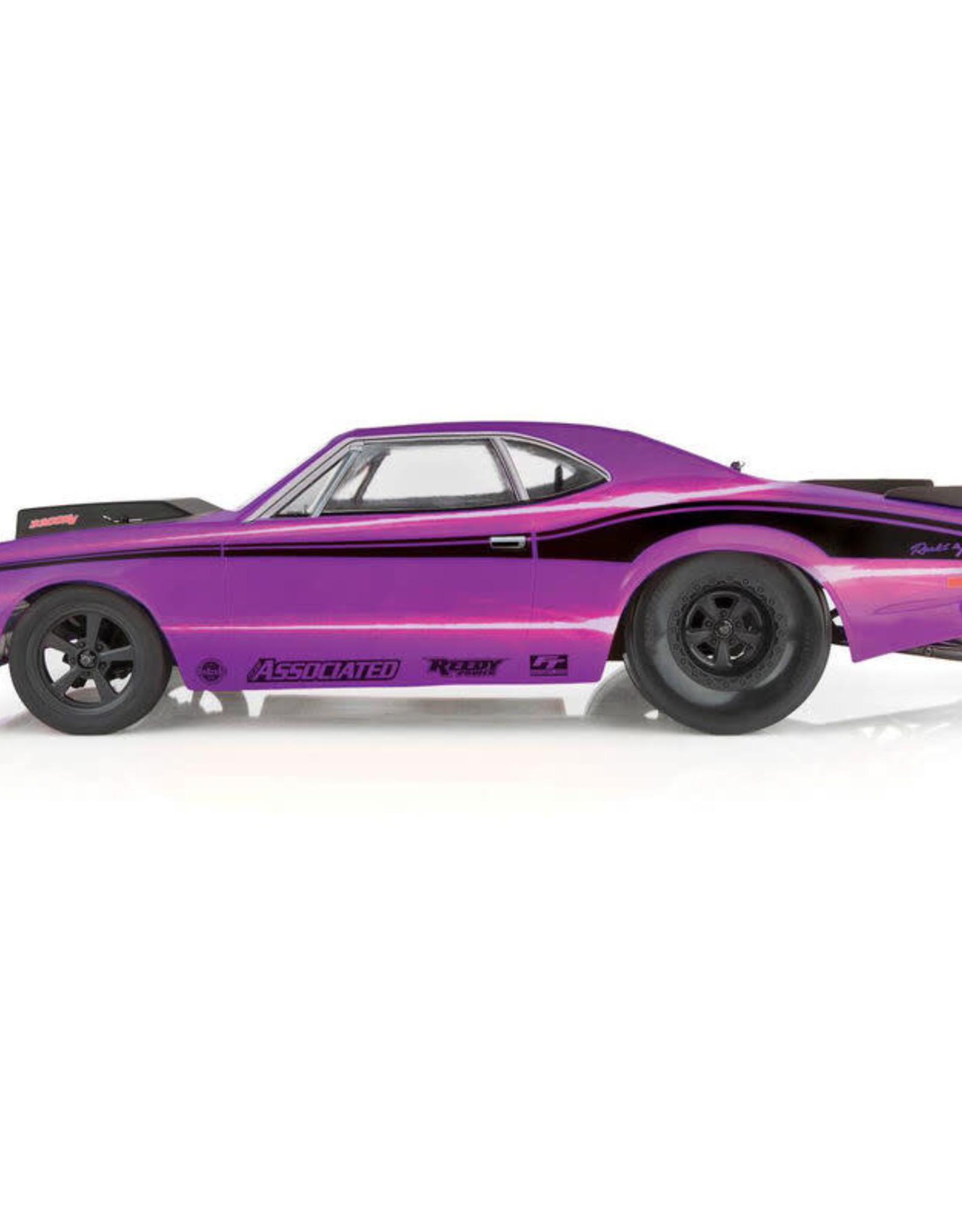 Team Associated ASC70028 DR10 Drag Race Car RTR: Purple