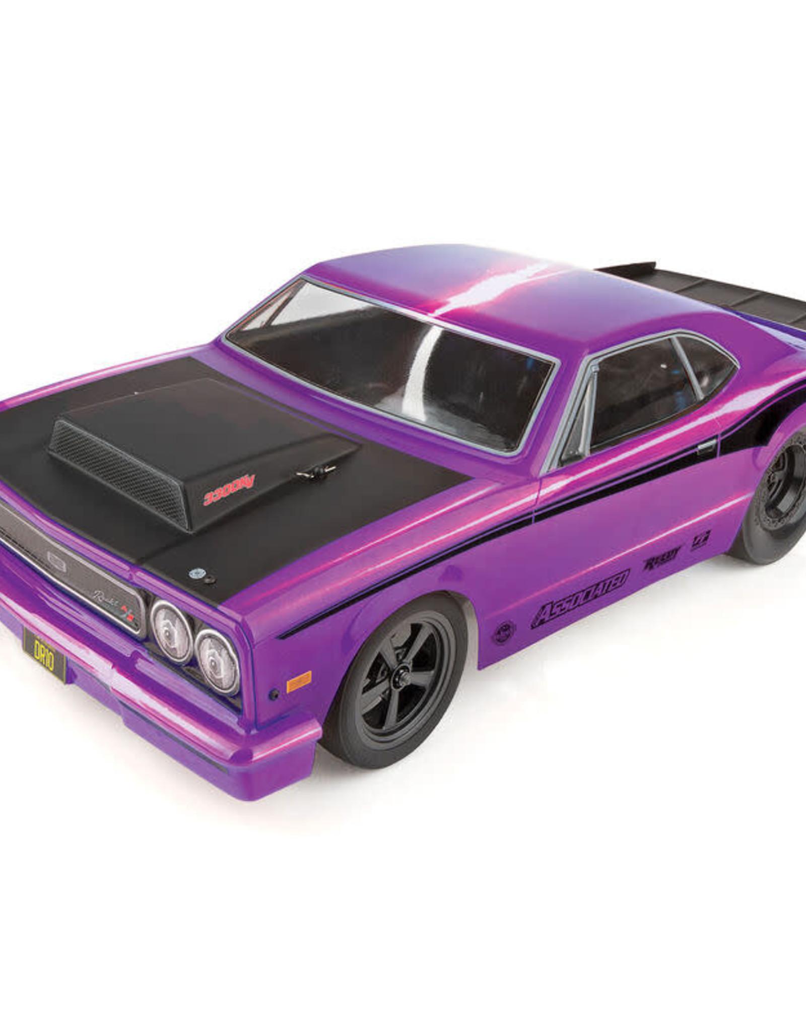 Team Associated ASC70028C DR10 RTR LiPo Combo: Purple