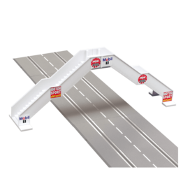 carrera CAR21119 Pedestrian bridge (for 2 lanes)