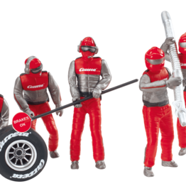carrera CAR21131 Set of figures, mechanics, Carrera Crew (Red)