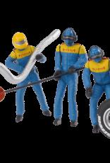 carrera CAR21132 Set of Mechanic Figures (Blue/Yellow)