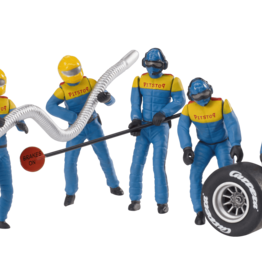 carrera CAR21132 Set of Mechanic Figures (Blue/Yellow)