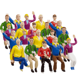 carrera CAR21129 Set of figures Stands