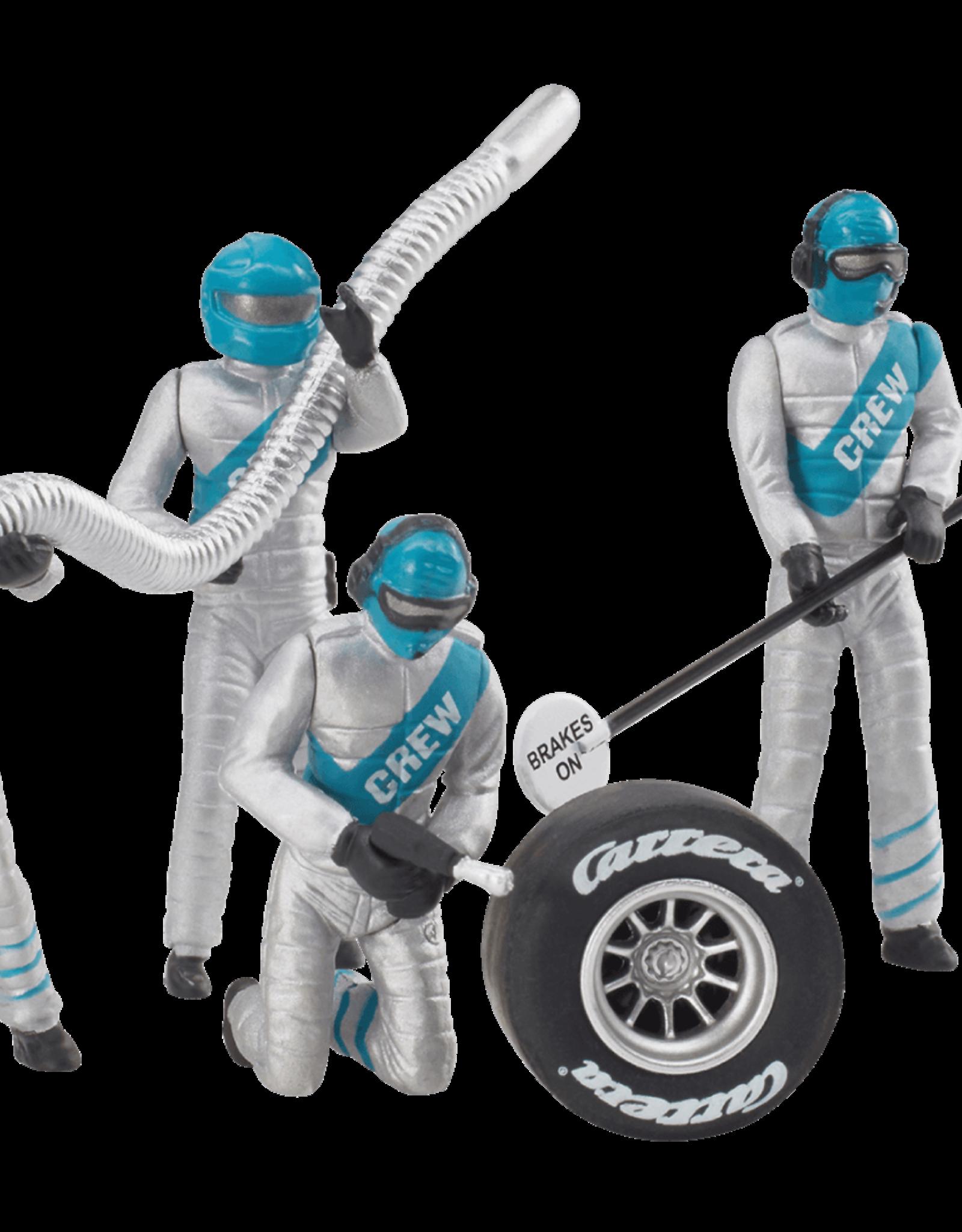 carrera CAR21133 Set of Mechanic Figures, Silver