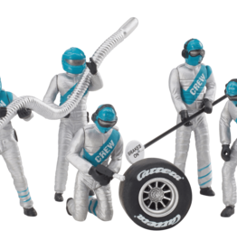 carrera CAR21133 Set of Mechanic Figures, Silver