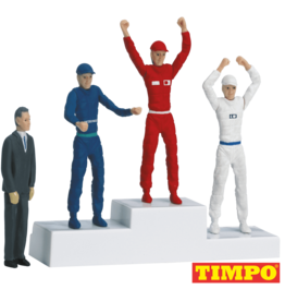 carrera CAR21121 Victors' podium with set of figures