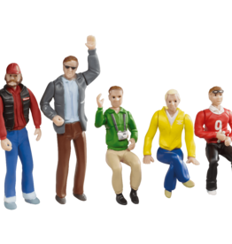 carrera CAR21127 Set of figures - spectators (5 pcs)