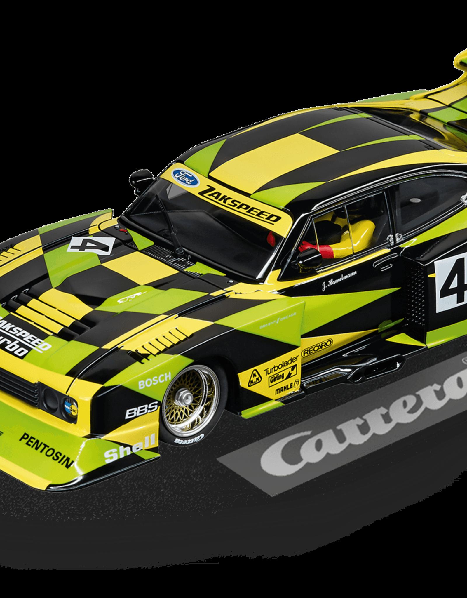"carrera CAR30832 Ford Capri Zakspeed Turbo ""Jürgen Hamelmann-Team, No. 4"""