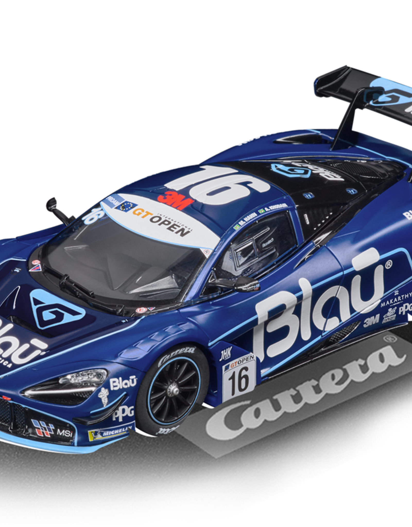 carrera CAR30919 McLaren 720S GT3 No.16, Digital 132 w/Lights