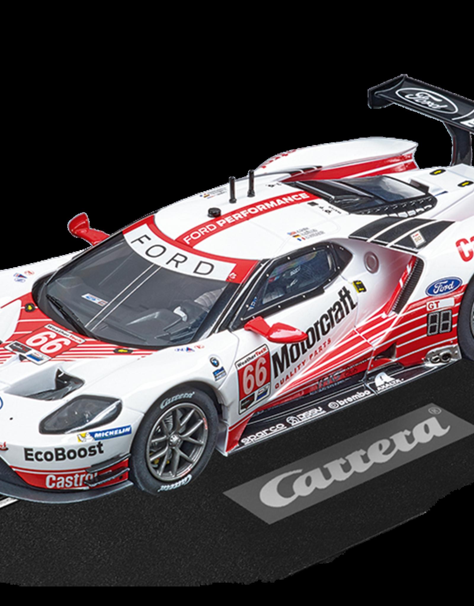 carrera CAR30913 Ford GT Race Car No.66, Digital 132 w/Lights