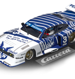 "carrera CAR30887 Ford Capri Zakspeed Turbo ""D&W, No.3"", Digital 132 w/Lights"