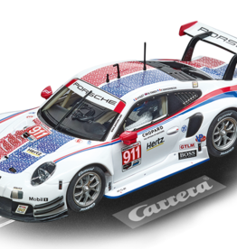 carrera CAR30915 Porsche 911 RSR Porsche GT Team #911, Digital 132 w/Lights