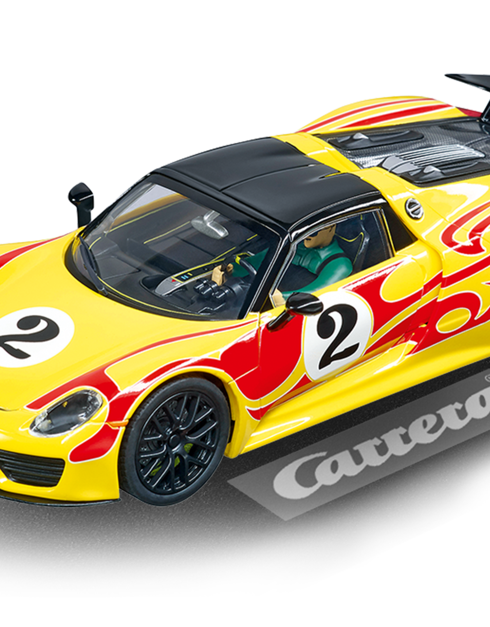 "carrera CAR30877 Porsche 918 Spyder ""No.2"", Digital 132 w/Lights"