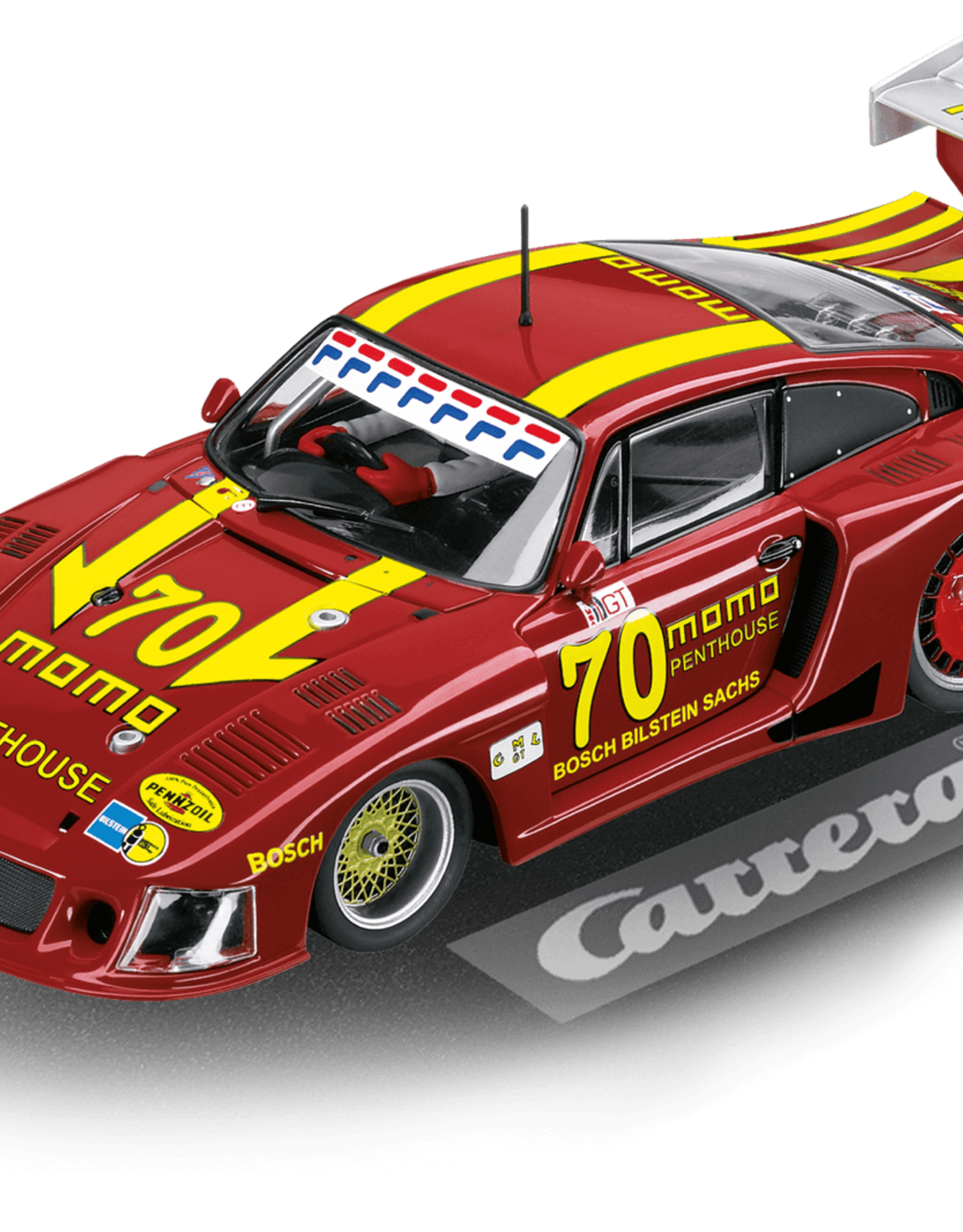 "carrera CAR30855 Porsche 935/78 ""Moby Dick"" DRM Norisring 1981, Digital 132 w/Lights"