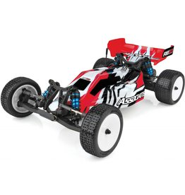 Team Associated ASC90032CRB10 RTR LiPo Combo, red